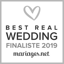 Finaliste Best Real Wedding 2019 Mariages.net