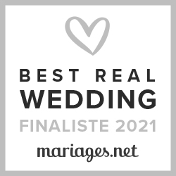 Finaliste Best Real Wedding 2021 Mariages.net