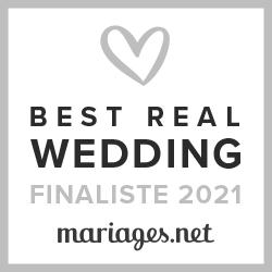 Melody Leporatti, finaliste Best Real Wedding 2021 Mariages.net