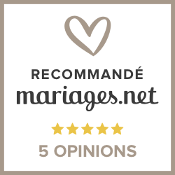 Recommended on Mariages.net