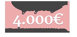 Gagnez 4.000€ pour votre mariage