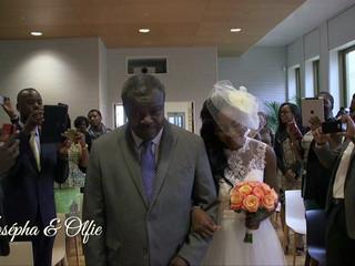 Josepha et Olfie mariage