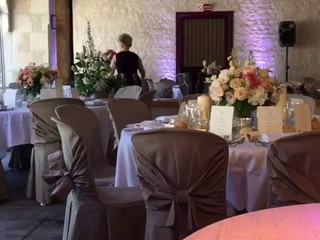 Décoration de la salle pour mariage