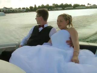 Balade en bateau de Mélodie et Pierre