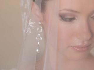 Bijoux d'oreilles de mariage