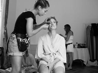 Guapas-Paris / maquillage mariée