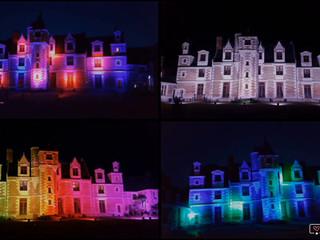 Château de Jallanges - Vues by night