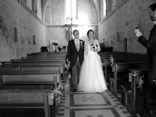 Mariage Claire et Paul au Château de Puyrigaud