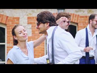 Vidéo de mariage au Domaine d'Essendiéras - Séléna & Anthony