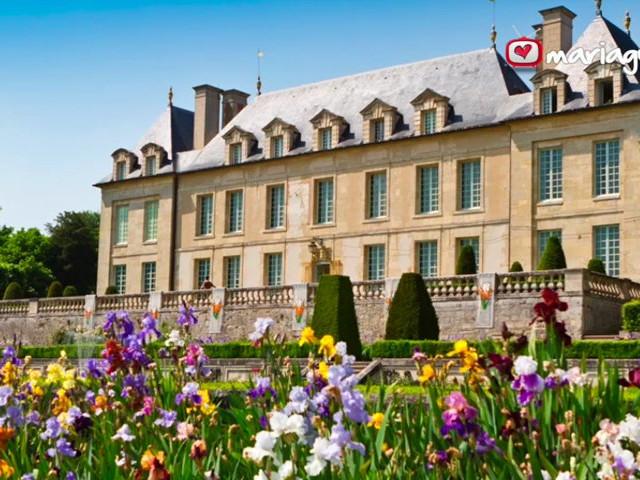 face sud du chteau - Chateau D Auvers Mariage