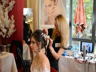 Coiffures et maquillages mariée par l'équipe D&Z Agency
