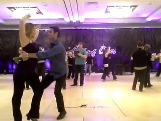 West coast swing Olya et Olivier