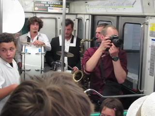 Les Dromaludaires dans le métro