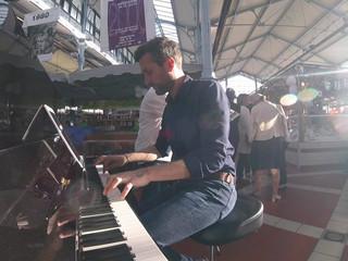 Le duo : piano et contrebasse