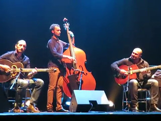 Trio jazz manouche