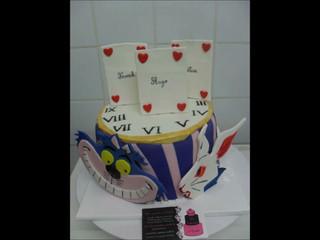 Wedding cake - dessert de mariage