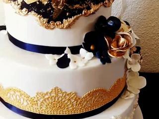 Wedding cake mousse