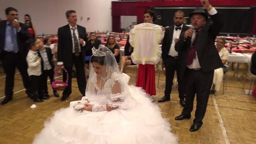 Mariage Gitan Ceremonie Du Foulard