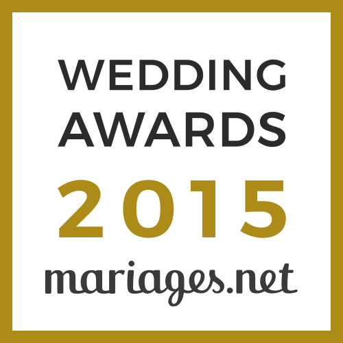 100% Réception, gagnant Wedding Awards 2015 mariages.net