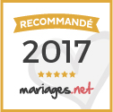 Lol Evènements, Label 'OR' Wedding Awards 2017 mariages.net