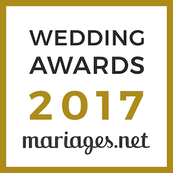 Weddreams Lyon, gagnant Wedding Awards 2017 mariages.net
