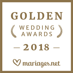 Gagnant Wedding Awards 2018 mariages.net