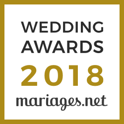 Le Prieuré de Vernelle, gagnant Wedding Awards 2018 Mariages.net