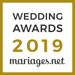 Pascale & Chris, gagnant Wedding Awards 2019 Mariages.net