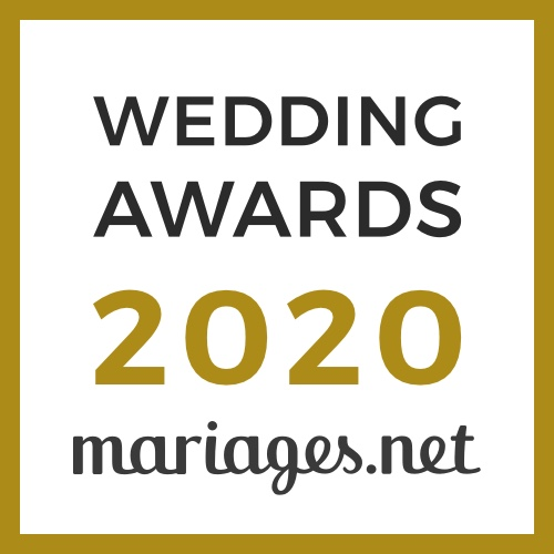 MonaLisa, gagnant Wedding Awards 2020 Mariages.net