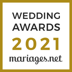 Fabrice Simonet Photographe, gagnant Wedding Awards 2021 Mariages.net