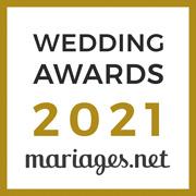 Gagnant Wedding Awards 2021