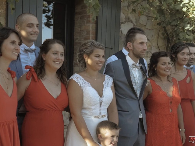 Le mariage de Joris et Justine à Allex, Drôme 4