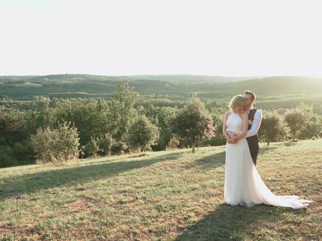 Le mariage de Ciara et Arnaud à Sarlat-la-Canéda, Dordogne 1